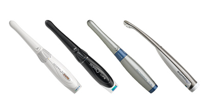 Intraoral scanners, Intraoral cameras